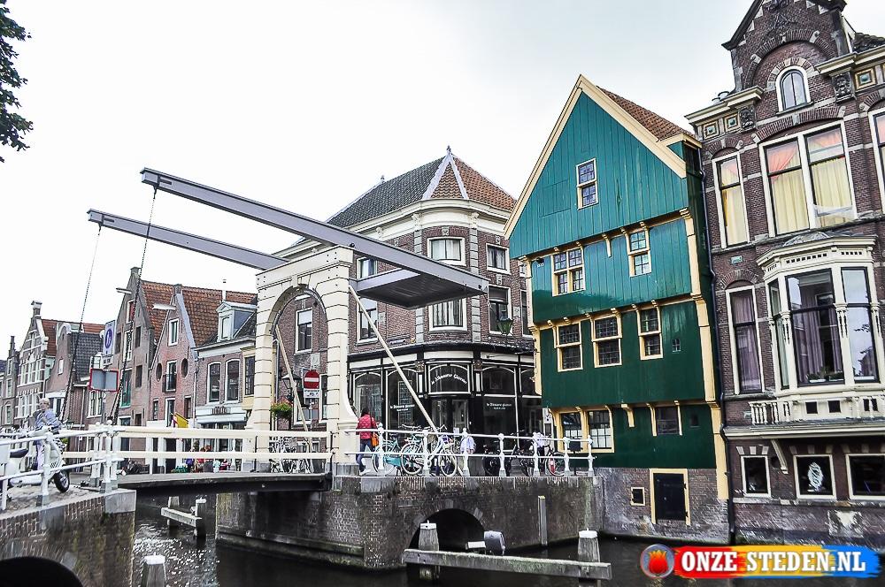 De Nieuwlandbrug in Alkmaar