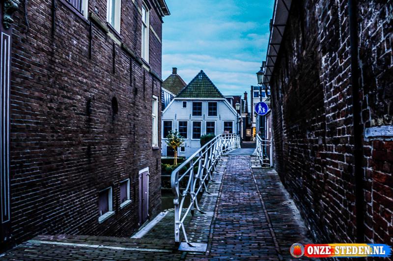 Een Historische steeg in Appingedam