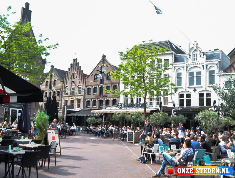 de Korenmarkt in Arnhem