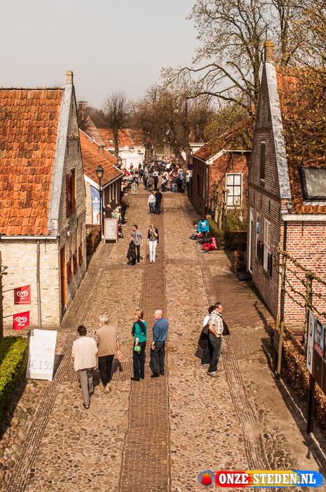 De Meestraat in Bourtange