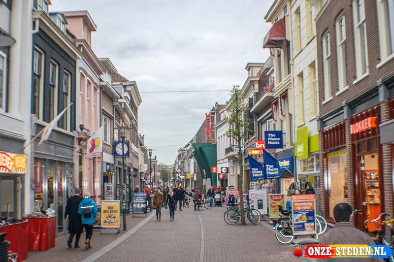 De Ginnikenstraat in Breda