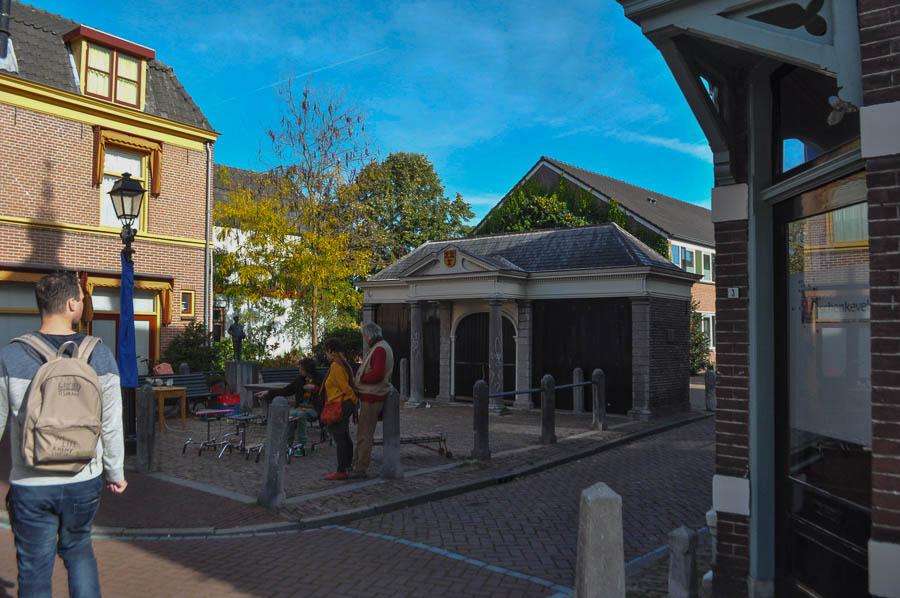 De oude vismarkt in Culemborg