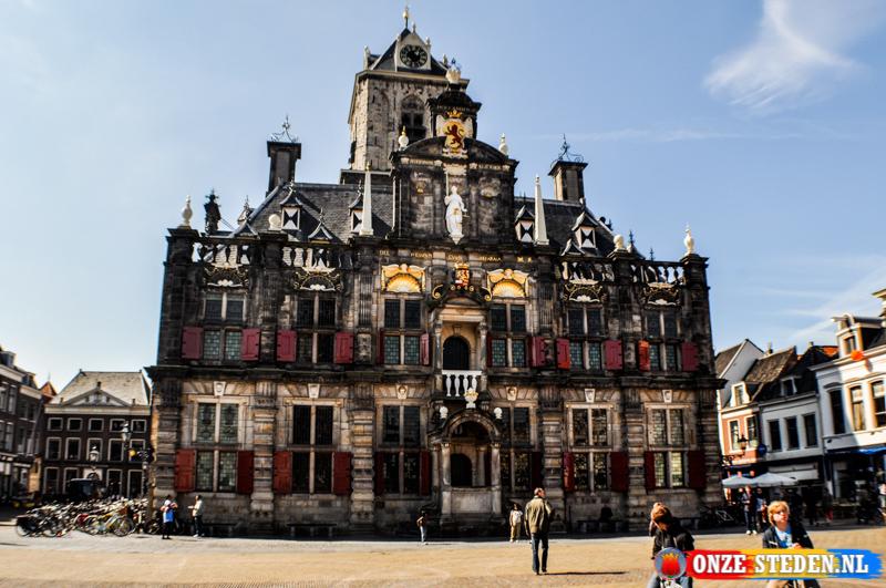 Het Oude Raadhuis, Delft (voorkant)