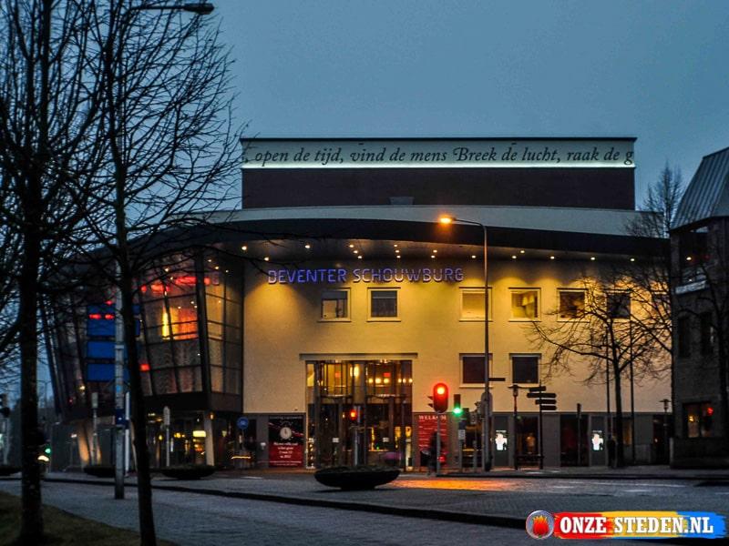 De Schouwburg in Deventer