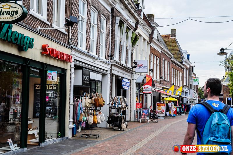 De Grote Breedstraat in Dokkum