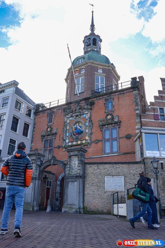 De Groothoofdpoort in Dordrecht