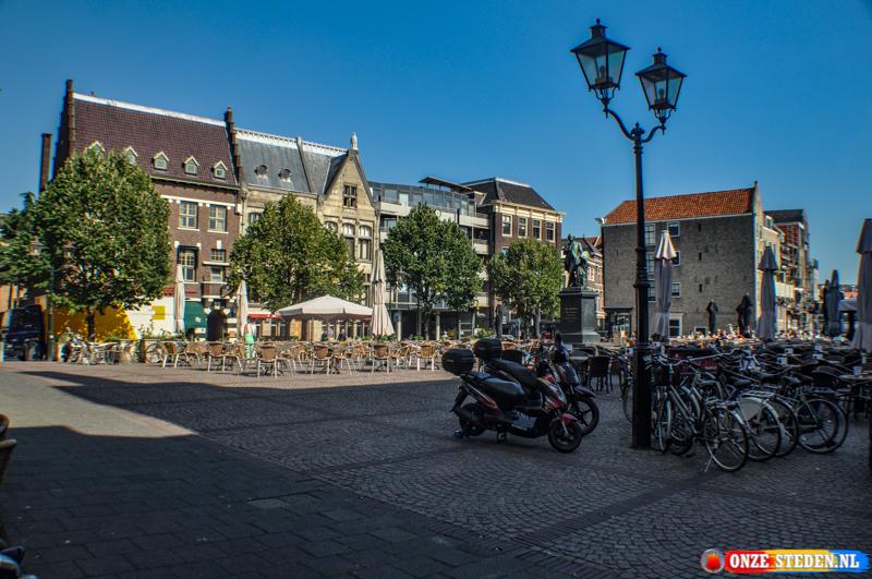 Het Scheffersplein in Dordrecht