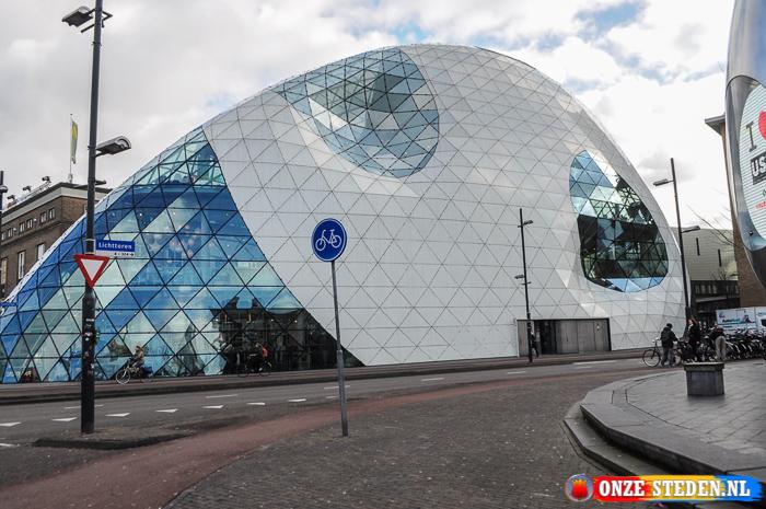 Het Emmaplein in Eindhoven