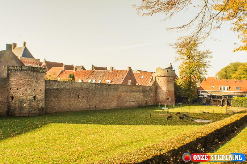De Stadsmuur van Elburg