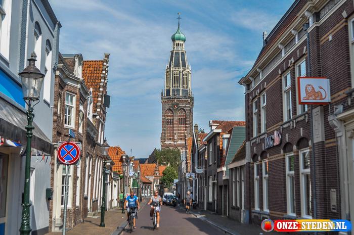 De Torenstraat in Enkhuizen