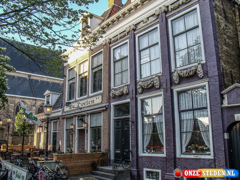 De Dijkstraat in Franeker