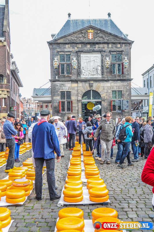 De Kaasmarkt van Gouda