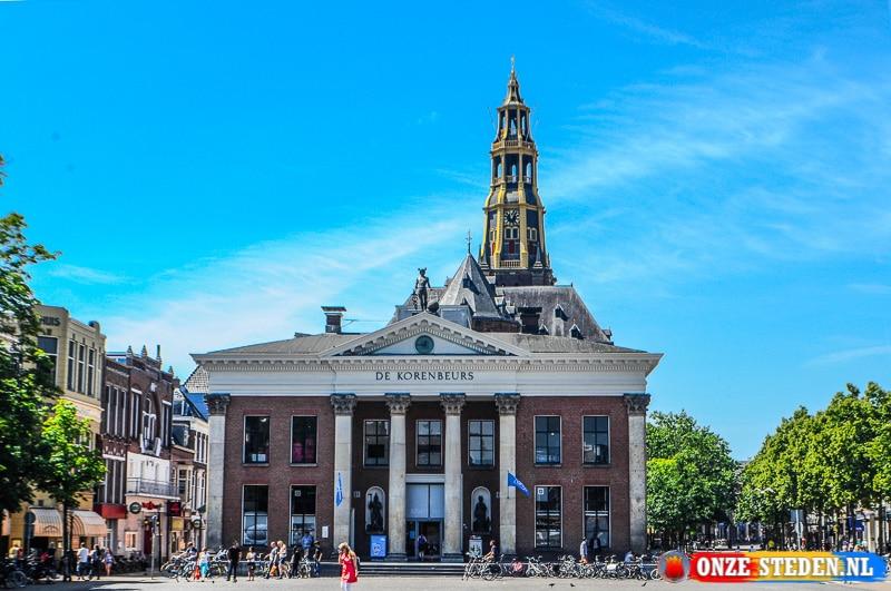 De Grote Markt in Groningen