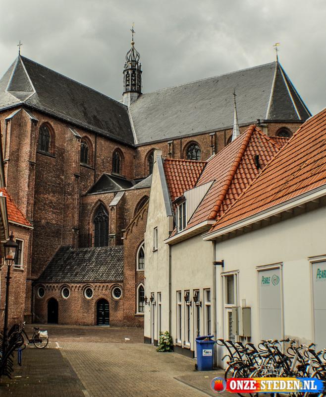 De Sint-Catharinakerk in Harderwijk