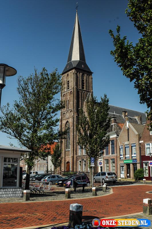 De Grote kerk in Harlingen
