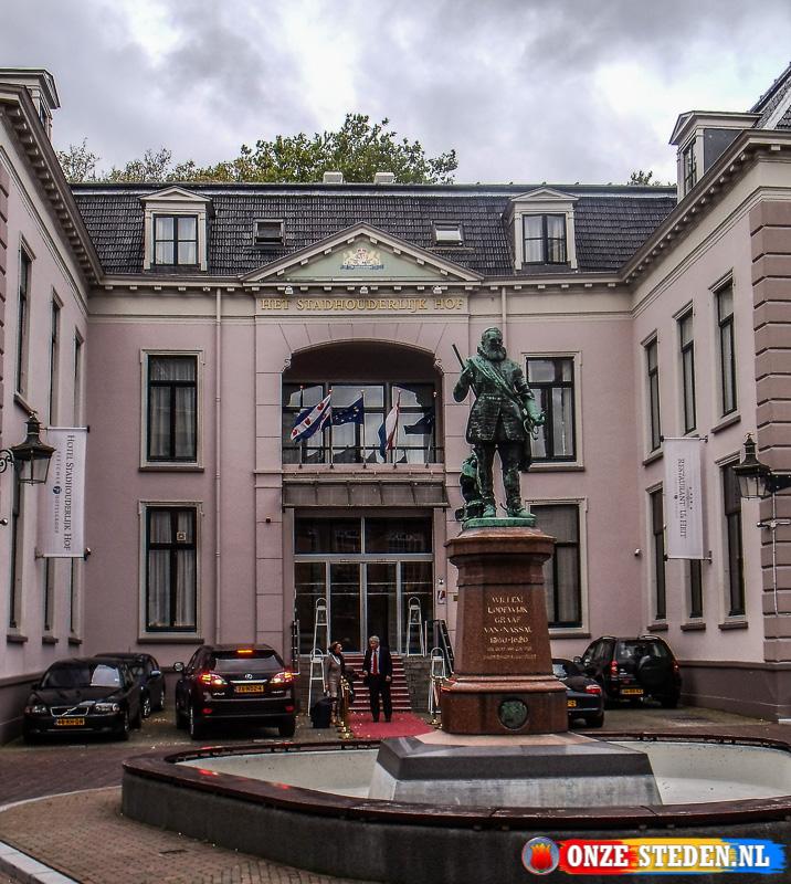 Het Hofplein in Leeuwarden