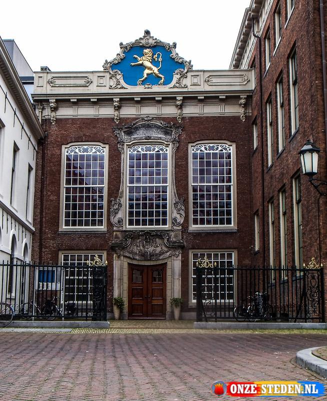 Het Hofpliein in Leeuwarden