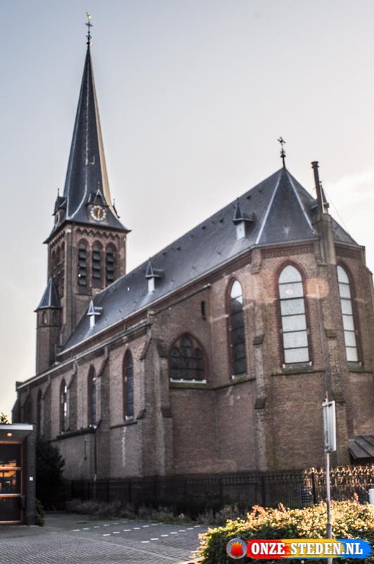 De Rooms-katholieke kerk in Lemmer