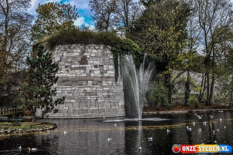 Het Stadspark van Maastricht