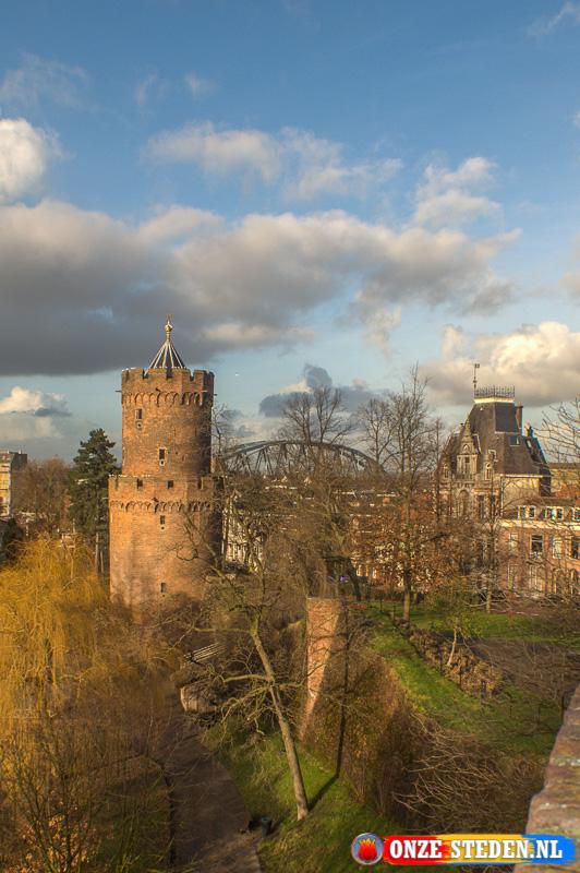 Het Kronenburgerpark in Nijmegen