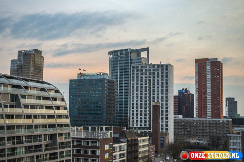 De Nieuwe Markt in Rotterdam