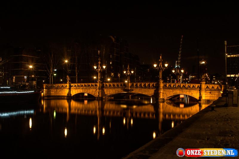 De Oude Wijnbrug in Rotterdam