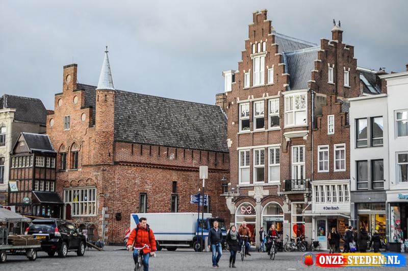 De Markt in s-Hertogenbosch
