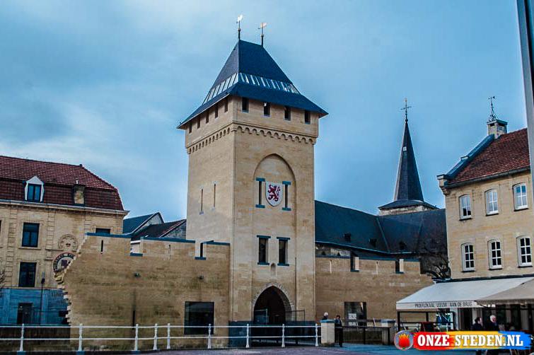 De (Herbouwde) Geulpoort van Valkenburg