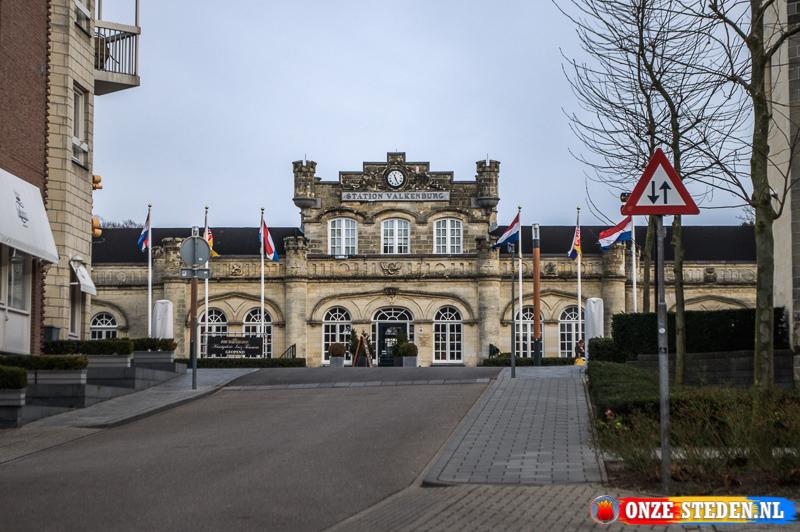 Het Treinstation van Valkenburg