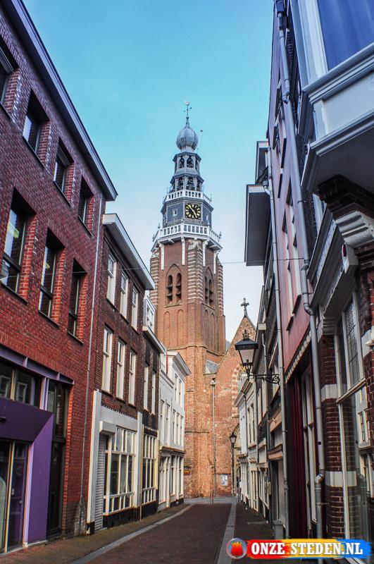 De Sint Jacobskerk in Vlissingen
