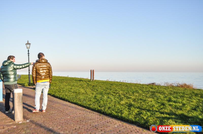De Havendijk in Volendam