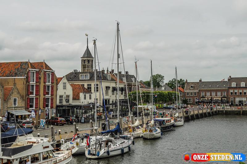 De Benedenkade in Willemstad