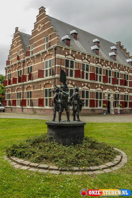 Het Mauritshuis in Willemstad