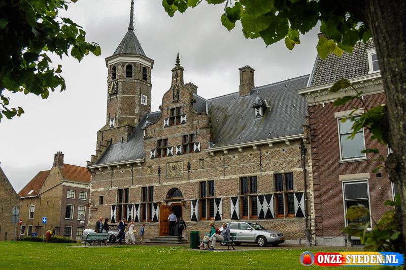 Het Oude Raadhuis van Willemstad, Nederland