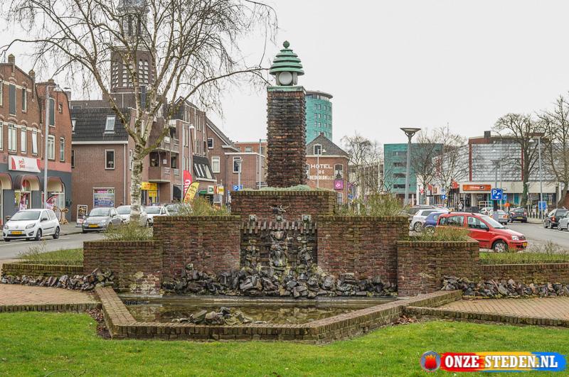 De Burgemeester Schöneveld Fontein in Winschoten