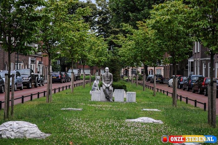De Prins Bernhardlaan in Woerden