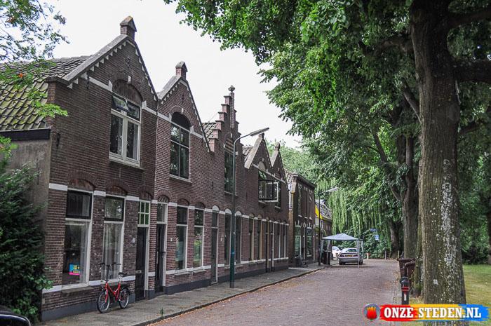 De Wilhelminaweg in Woerden