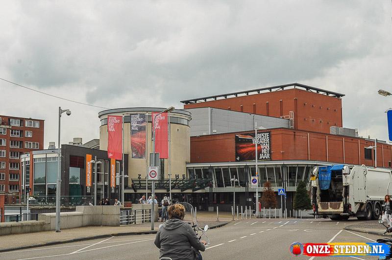 Het Zaantheater in het centrum van Zaandam