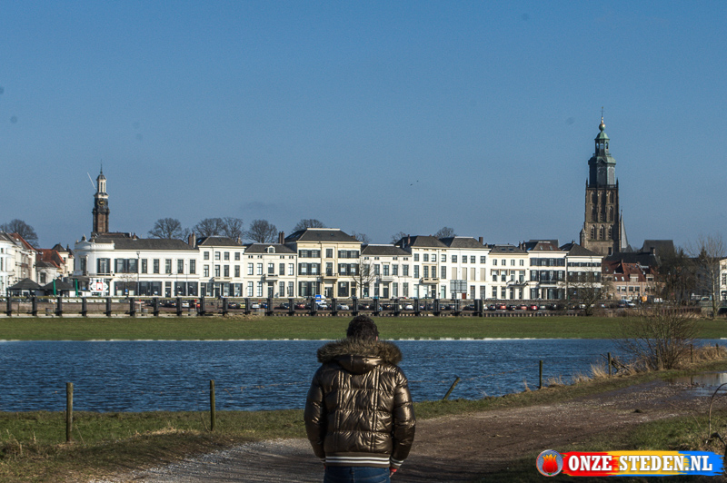De IJssel in Zutphen