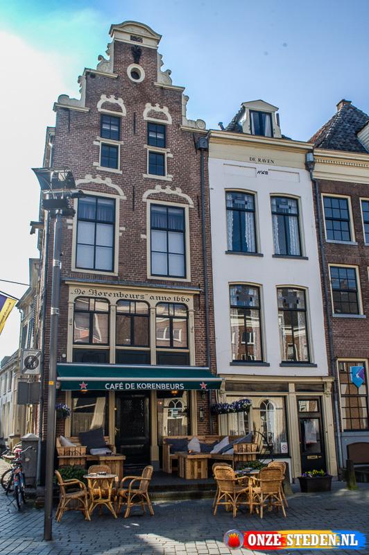 De Groenmarkt in Zutphen