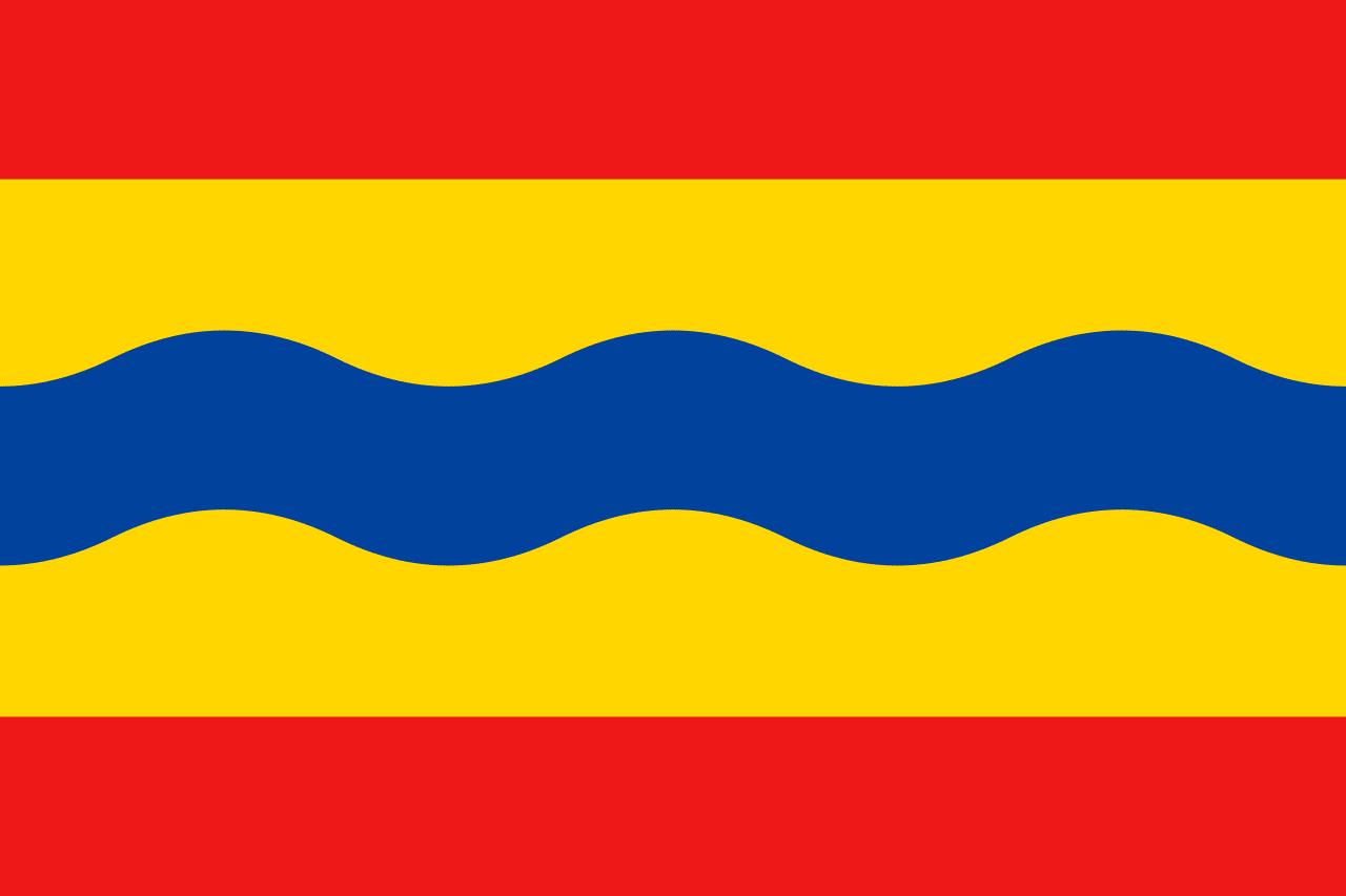 Vlag van de provincie Overijssel