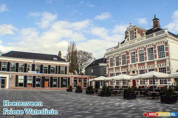 Heerenveen, stad aan de Friese Waterlinie