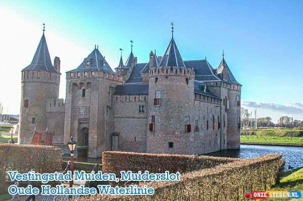 Muiderslot Muiden, Oude Hollandse Waterlinie