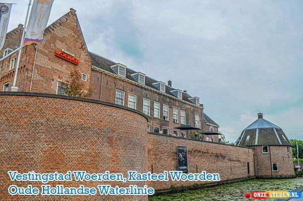 Kasteel Woerden, Oude Hollandse Waterlinie