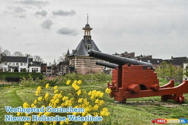 Vestingstad Gorinchem, Nieuwe Hollandse Waterlinie