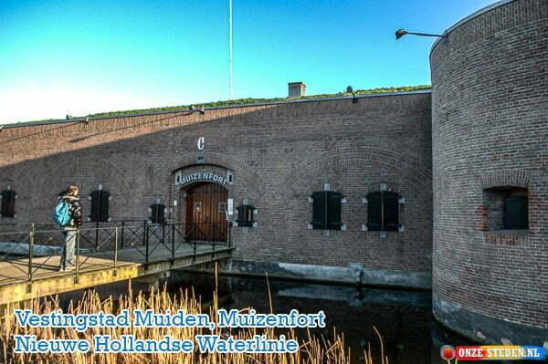 Muiden Muizenfort, Nieuwe Hollandse Waterlinie